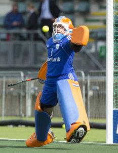 DEN HAAG - Joyce Sombroek. Nederland speelt oefenwedstrijd tegen Japan in het Kyocera Stadion. COPYRIGHT KOEN SUYK