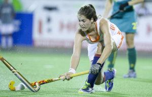 TUCUMAN Argentinie - Marloes Keetels. Finale tussen de vrouwen van Nederland en Australie (5-1) in de eindronde van de Hockey World League. Nederland winde HWL.  FOTO KOEN SUYK