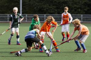 Hockey, Seizoen 2013-2014, 19-10-2013, Voorburg, KNHB Clinic Sportiviteit en Respect.