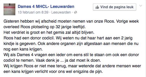 Facebookpost Leeuwarden D4