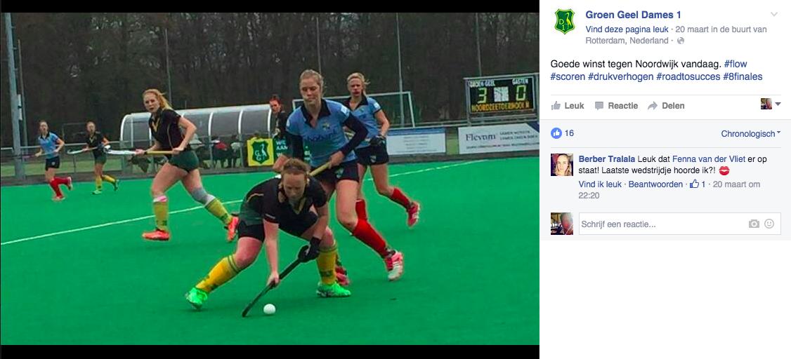 FB Groen-Geel Dames 1