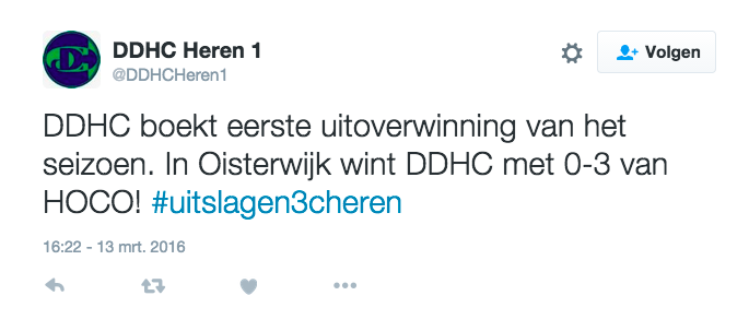 Twitter DDHC heren 1