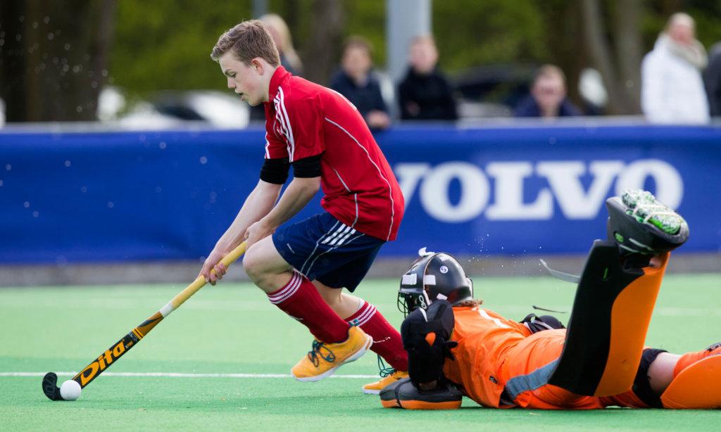 AMSTELVEEN - DOD (districts ontmoetingsdag) hockey. Midden Nederland tegen Oost Nederland. COPYRIGHT KOEN SUYK