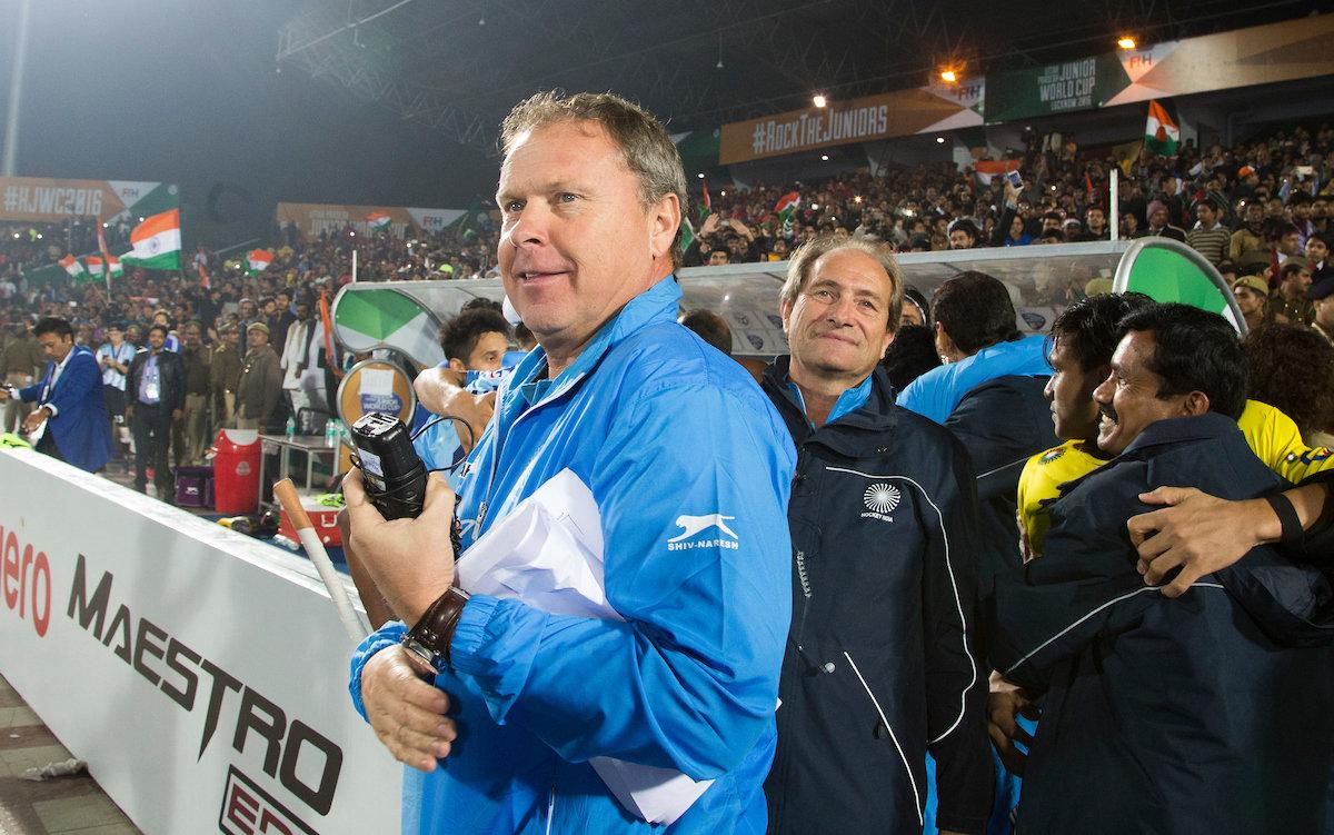 Roger Van Gent neemt afscheid van India met wereldtitel