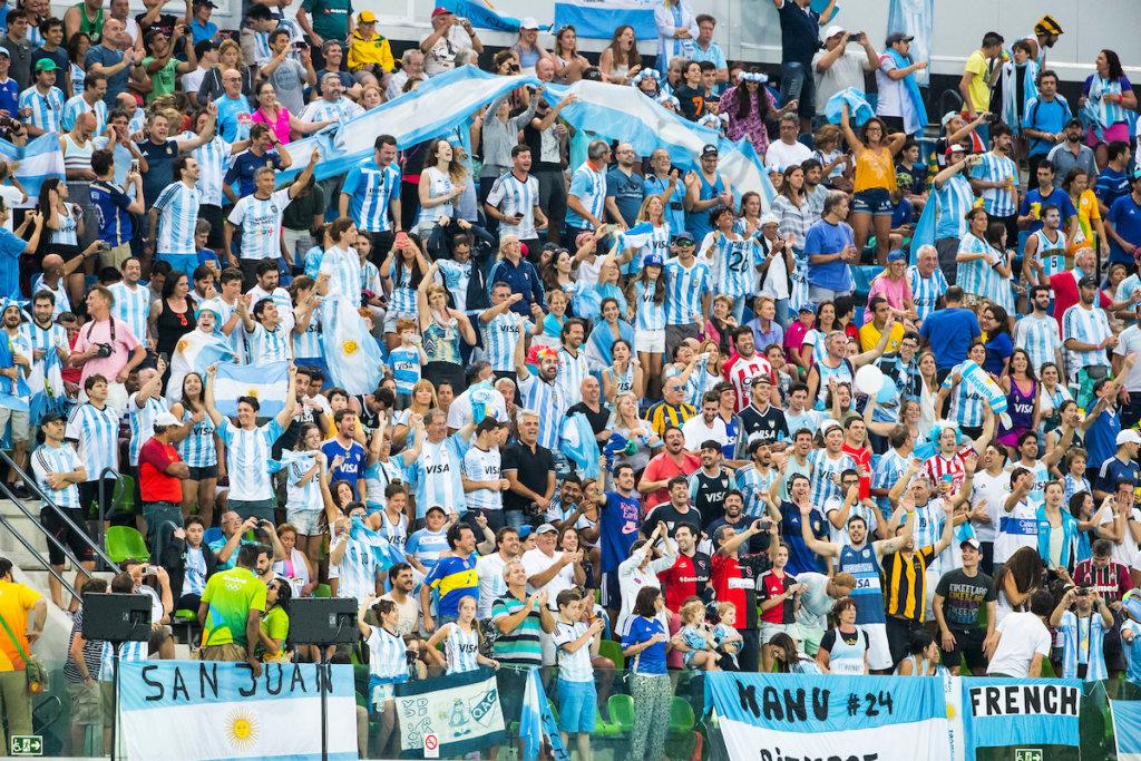 Argentijnse fans-KNHBKS