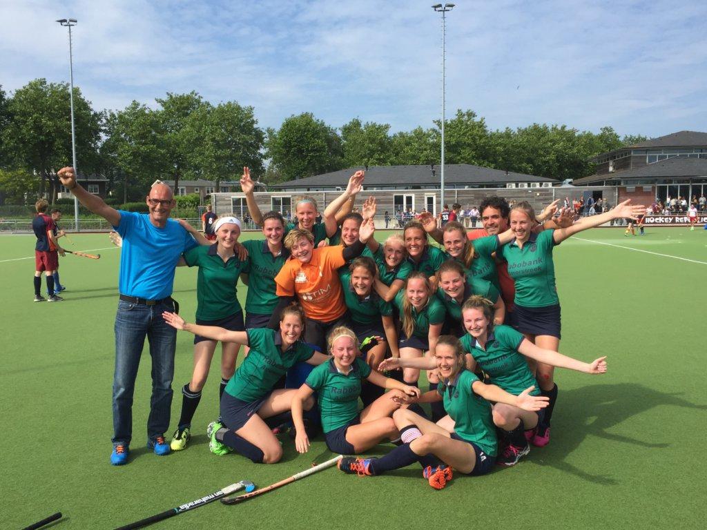 DDHC Dames Jong 1 Kampioen van NL