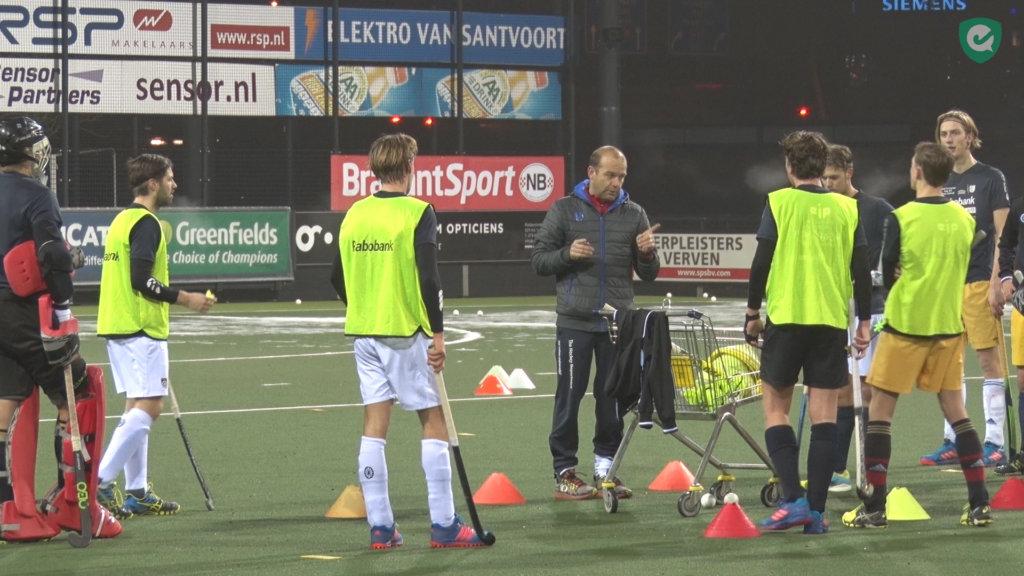Eric Verboom - Eerste training Den Bosch na winterstop