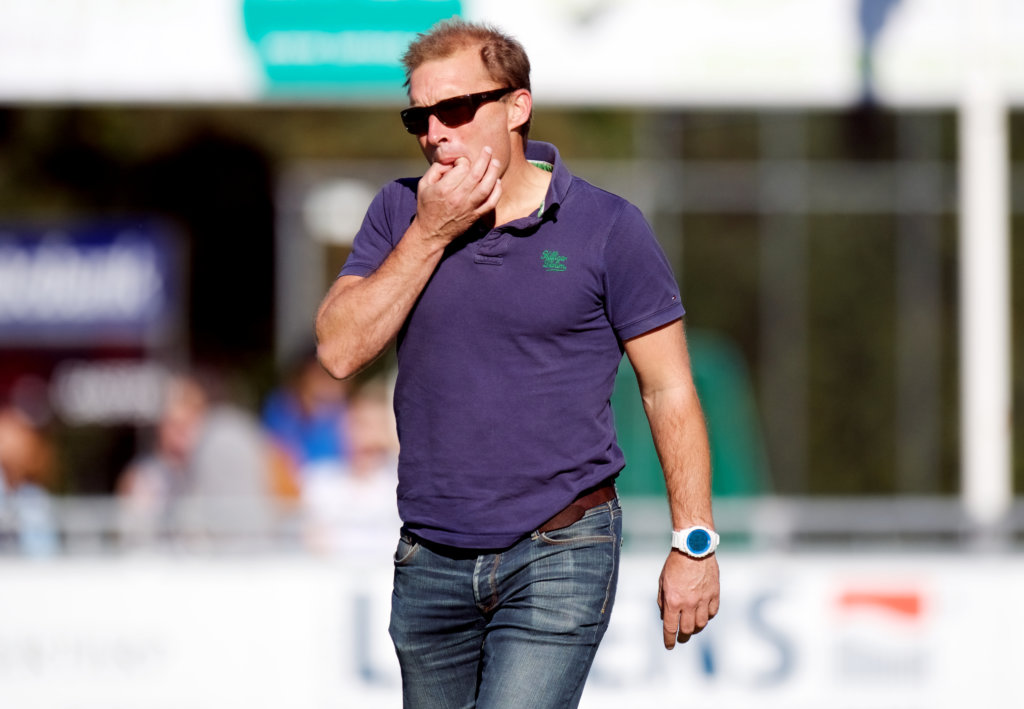 AMSTERDAM Hoofdklasse heren. H.C. Tilburg v HGC heren foto: Coach Jeroen Delmee. FFU PRESS AGENCY COPYRIGHT FRANK UIJLENBROEK