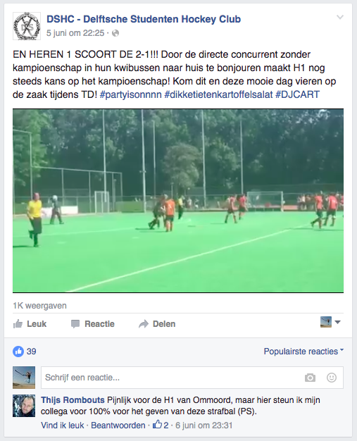 Facebook DSHC Ommoord