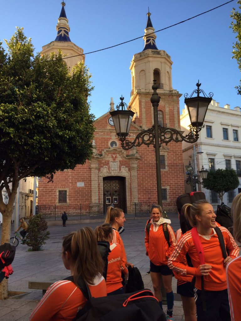 De Oranje Dames in San Fernando (c) Lars Gillhaus