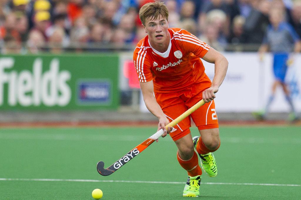 ASSEN - Nederland - Nieuw-Zeeland, Heren, Interland, Rabo Super Serie, Seizoen 2015-2016, 21-06-2016, Nederland - Nieuw-Zeeland 1-0, Jorrit Croon.