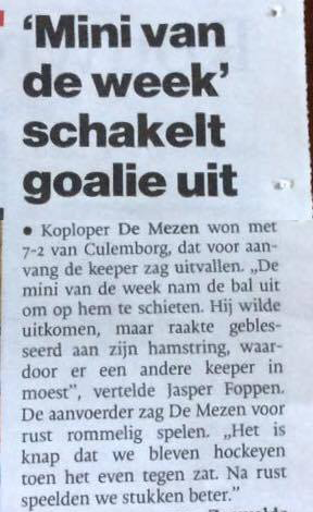 Mezen Culemborg mini vd week keeper