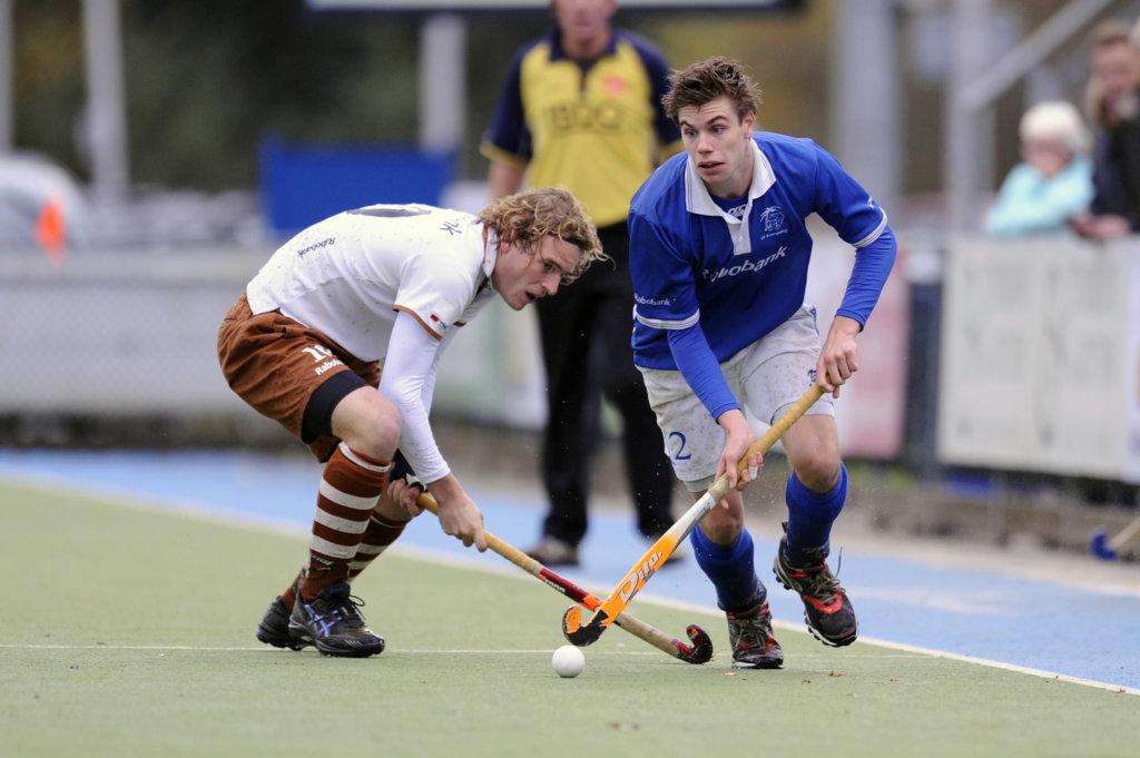 Rabo Hoofdklasse heren , Kampong - Tilburg , 15-11-2009, 8-1 , © Jasper Ruhe