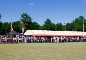 De originele tent van DES