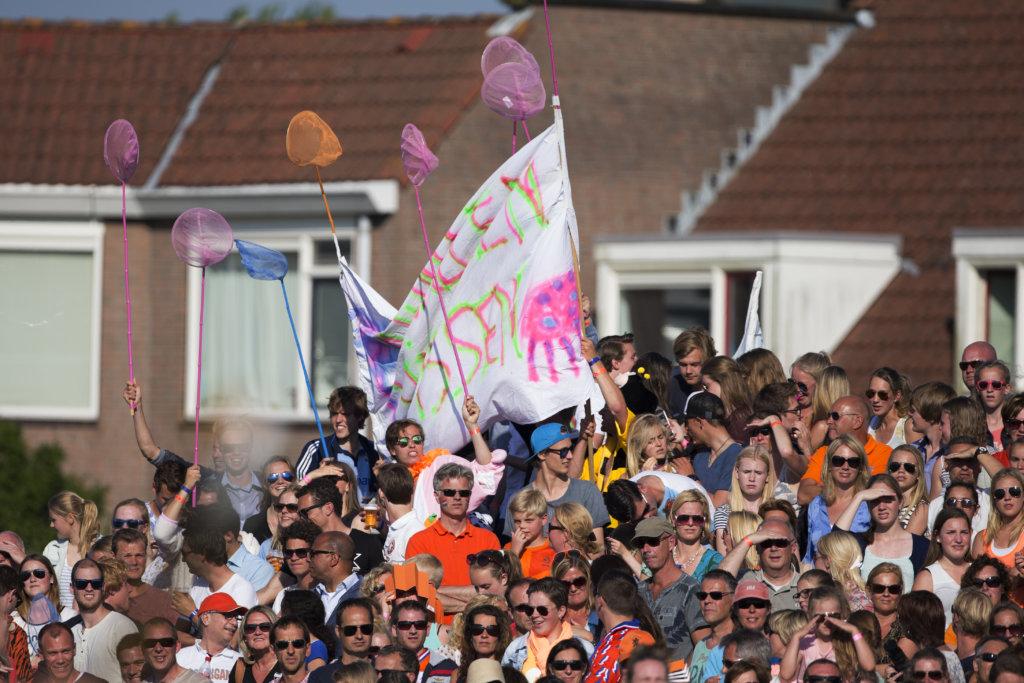 NOORDWIJK - Interland Nederland - Nieuw Zeeland Dames, RaboSuperSerie, Seizoen 2014-2015, 11-06-2015, Nederland - Nieuw Zeeland 3-1, toeschouwers.