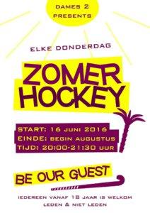 ZomerHockey 2016 Ede