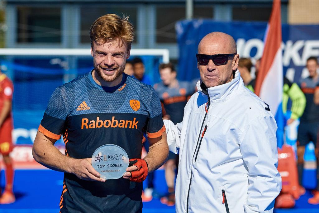VALENCIA, SPAIN - 4 NOVEMBER : Met zes goals werd Mink van der Weerden uitgeroepen tot topscorer van het toernooi (Foto: David Aliaga/Get Ready Images)