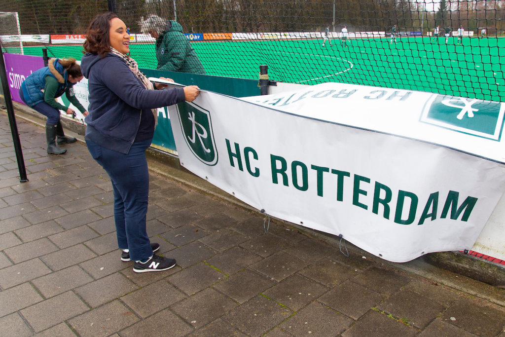 Hockey, Rotterdam - Voorbereidingen Pro-League HC Rotterdam, Seizoen 2018-2019, 03-03-2019, Pro League, Nederland - Duitsland, Voorbereidingen Pro League