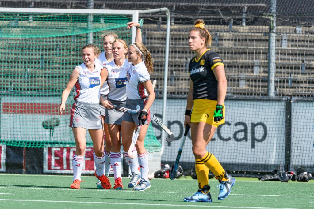 ff48c2f48017b0 Frédérique Matla baalt na een doelpunt van Der Club an der Alster. Foto:  Hockeyfoto.nu/Bart Scheulderman
