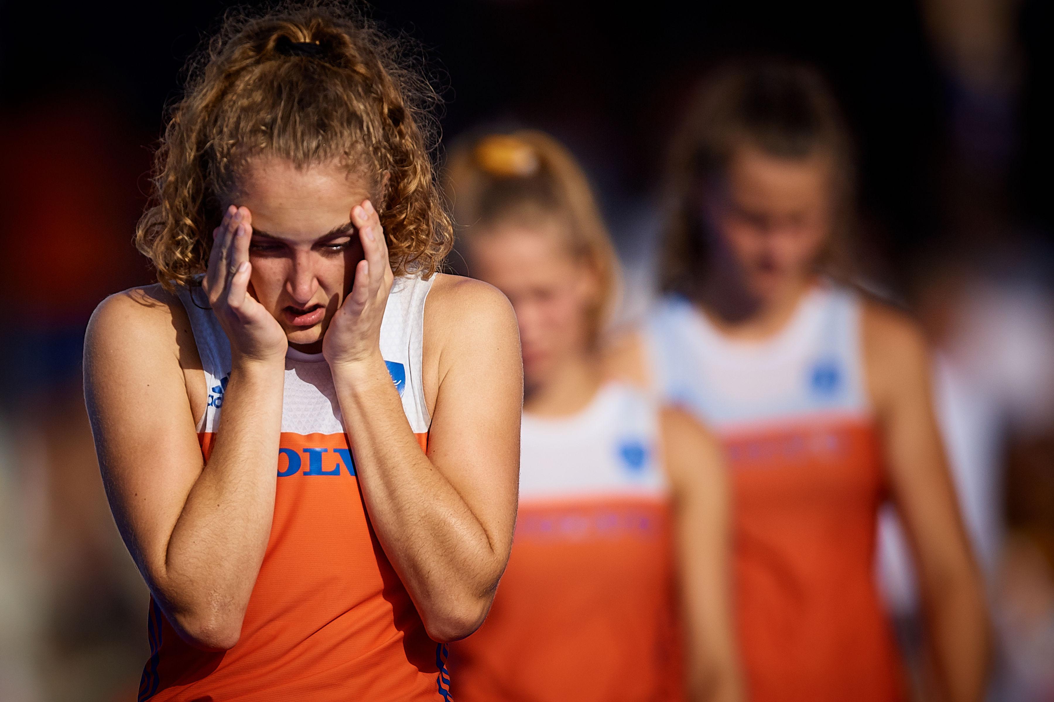Tranen Bij Jong Oranje Na Fatale Laatste Spaanse Minuut