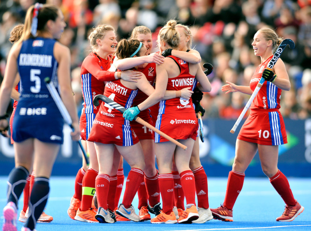 LONDON - FIH Hockey Olympic Qualifiers 2019 Great Britain v Chile (W) Photo: Tessa Howard scored 1-0. WORLDSPORTPICS COPYRIGHT WILL PALMER
