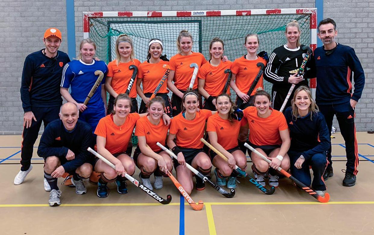 Oranje Dames Zaal Hockey.nl