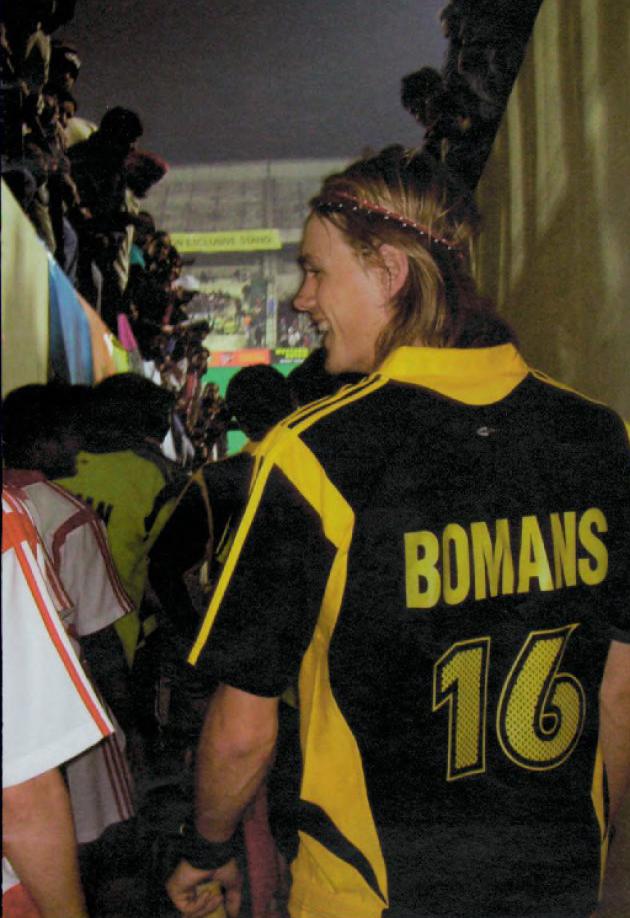 Balder Bomans Chandigarh Dynamos Hockey Magazine 2005 2006