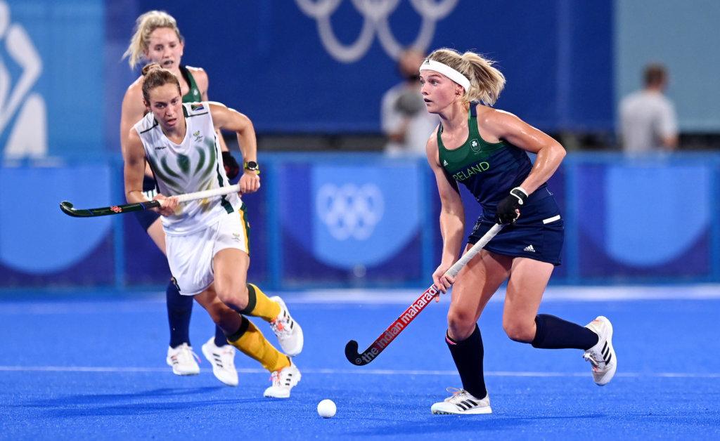 Ierland Zuid Afrika Chloe Watkins FIH Worldsportpics