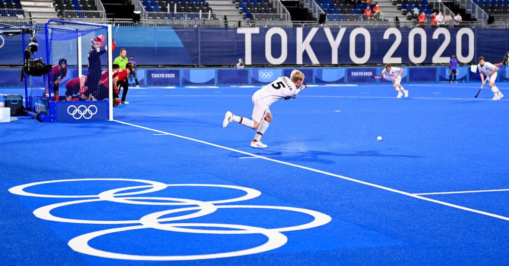 Canada Duitsland Linus Muller FIH Worldsportpics