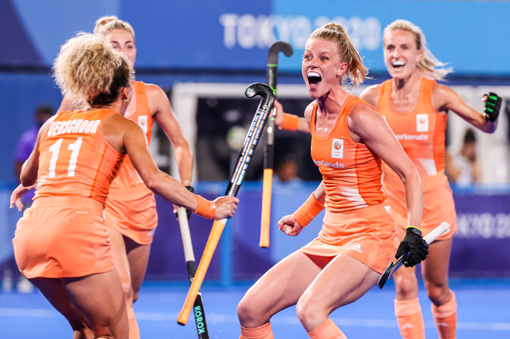 Netherlands reign supreme on top of the world