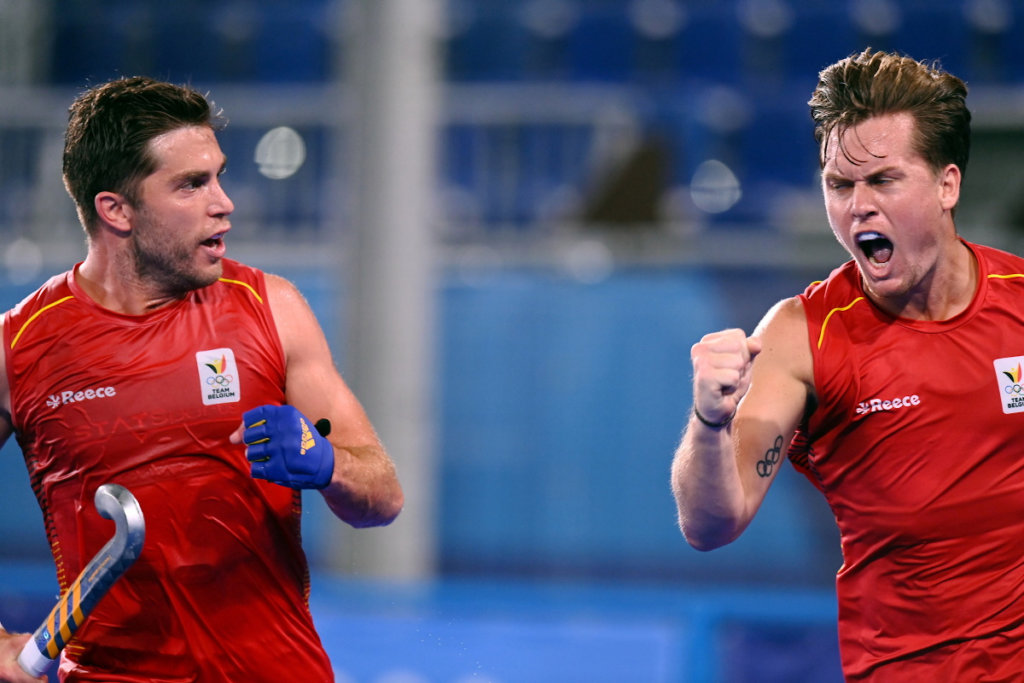 C%C3%A9dric Charlier Tom Boon Belgi%C3%AB Spanje FIH Worldsportpics