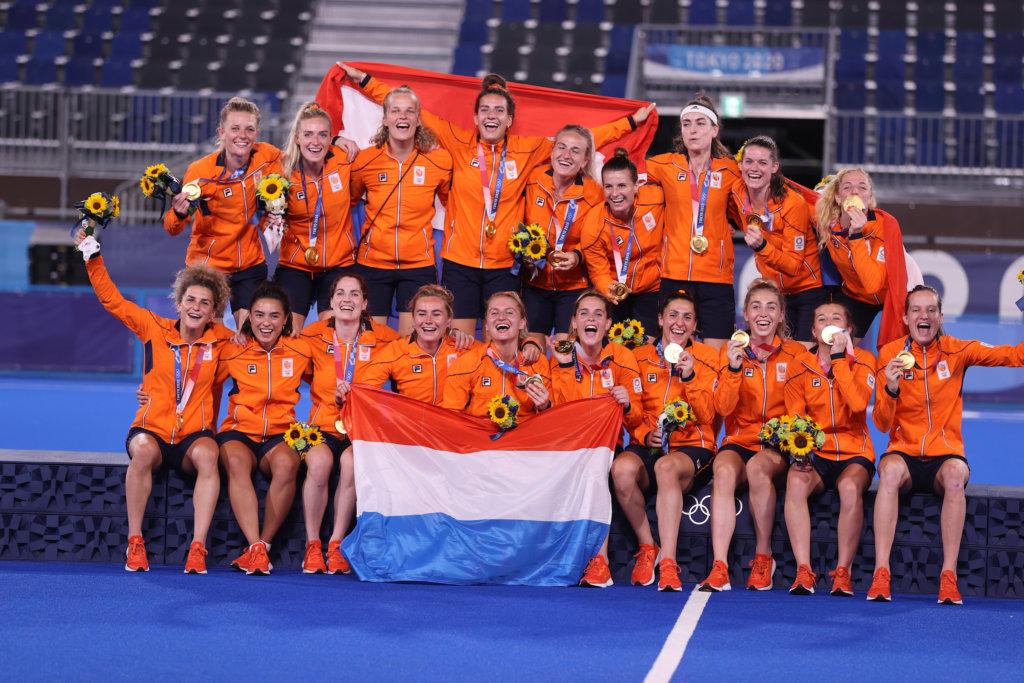 Oranje Dames Olympisch kampioen Tokio 2020 KS