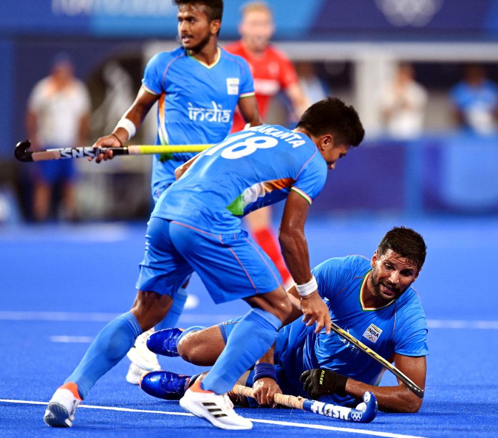 Sharma Nilakanta India Heren FIH Worldsportpics